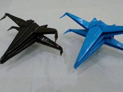 Origami pesawat star wars. how to make a paper star wars