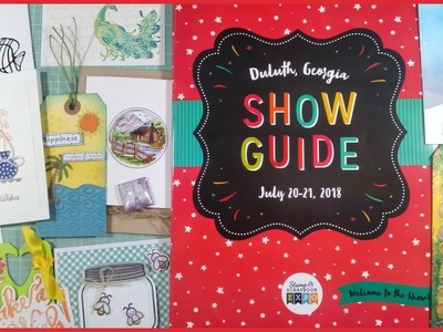 Scrapbook Expo 2018 Part 1 - How I Prep + Free Make and Takes
