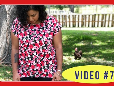Butterick 6214 Sew Along with Crafty Gemini: Video #7: How to Set in Sleeves