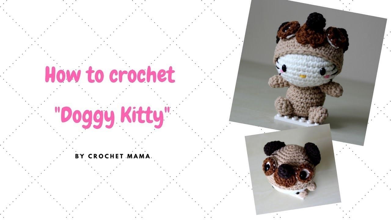 Crochet Amigurumi Hello Kitty Chinese Zodiac Dog Tutorial and Pattern