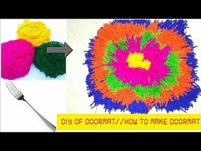 DIY OF DOORMAT||HOW TO MAKE DOORMAT