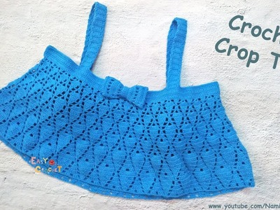 Easy Crochet for Summer: Crochet Crop Top #14