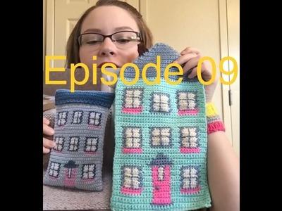 Episode 09-Amanda Hooked On Yarn-knitting and crochet podcast