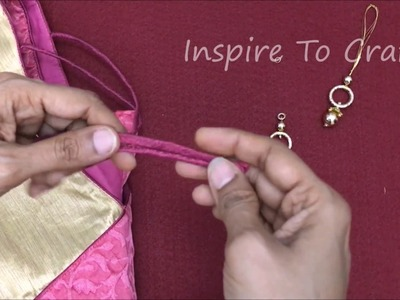 How to attach Latkans (dress. blouse Hanging Accessories)