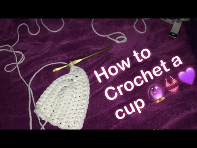 HOW TO CROCHET A BRA CUP!