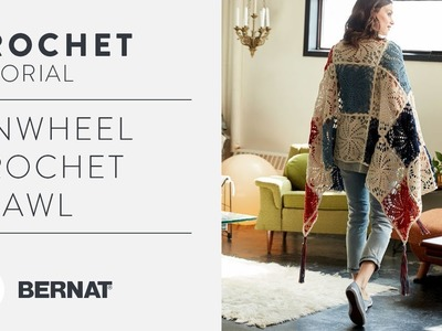 How to Crochet A Pinwheel Shawl