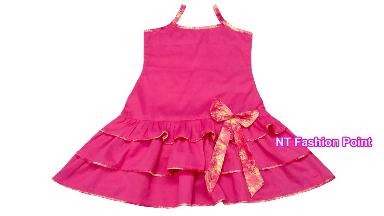 How to learn simple baby girls frocks designs | NT Fashion Point