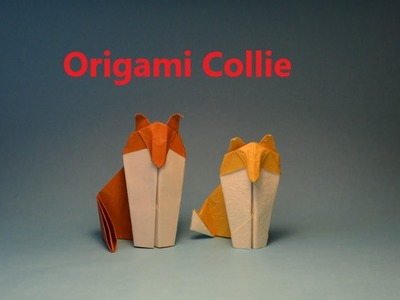 How to make a simple Origami Collie