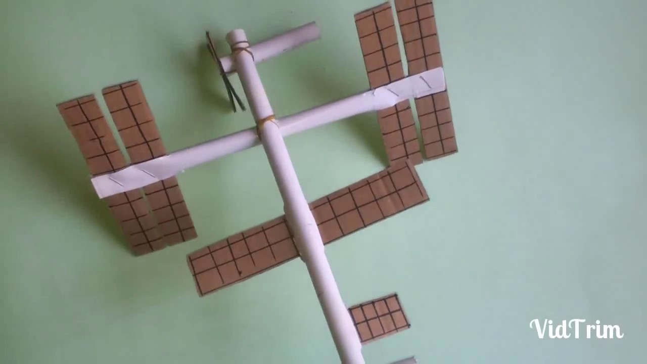 How to make a space station by paper. Origami.paper space station.