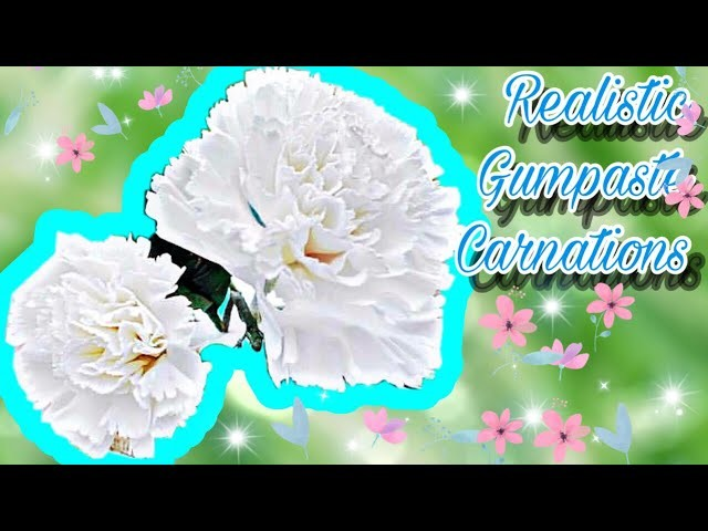 How to make a sugar carnation the easy way!