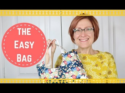 HOW TO MAKE AN EASY TOTE BAG | PINS+NEEDLES KITS