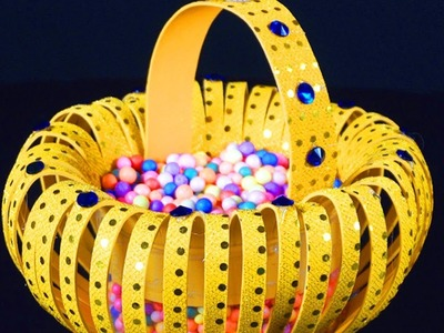 How to Make Foam Basket in Simple Way