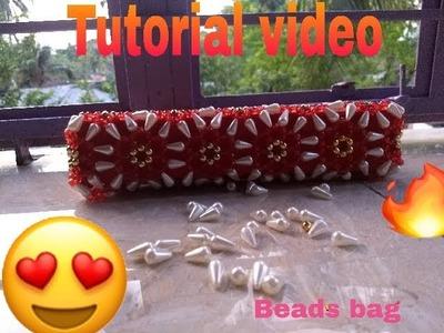 Part-1. How to make beads bag . Arpita Creation.