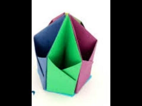 School Crafts Handicrafts For Kids How To Make Paper Pen Case 2018