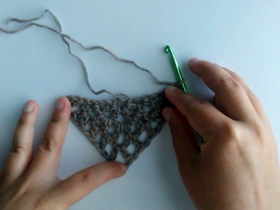 Spring Shawl Crochet Tutorial, How to video
