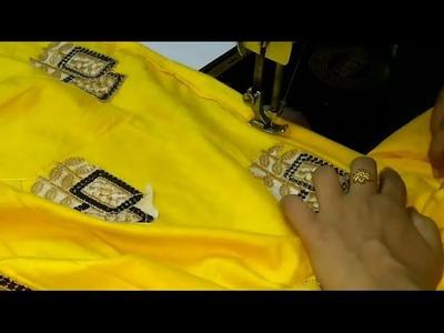अब बहुत ही आसान तरीके से चाक मोड़ना सिखे, How to fold chaak.side slits of kameez, Two easy ways, DIY