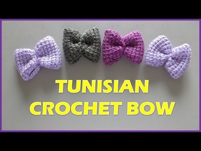 TUNISIAN CROCHET BOW