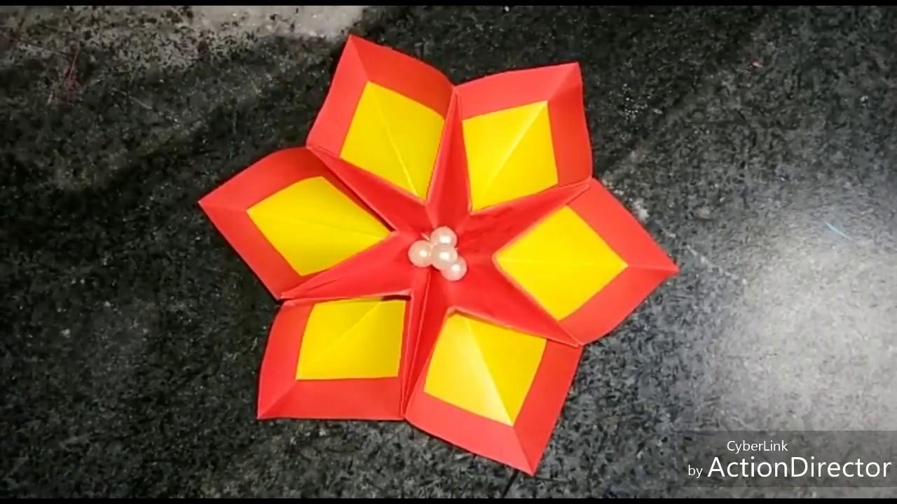 Design Beautiful Paper Flower Making Diy Beautiful Paper Flower