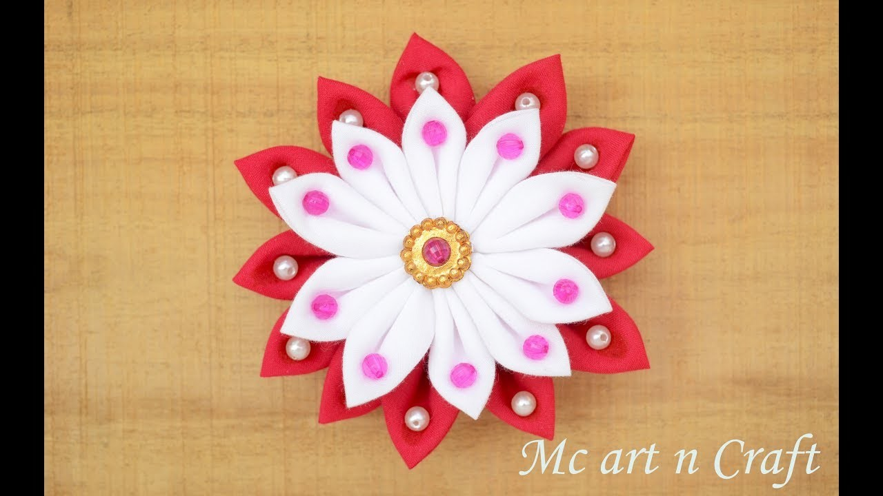 Best Idea Of Easy Cloth Flower Making Best Hand Craft Flower Making