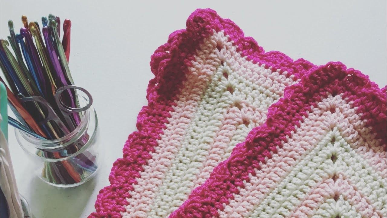 Crochet Edging For Baby Blanket