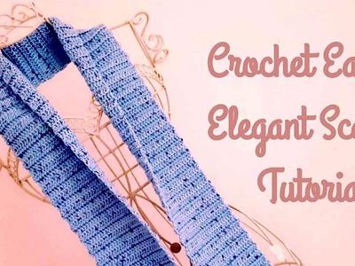 CROCHET SCARF: Easy Crochet Scarf