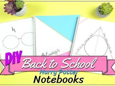 DIY Back To School Harry Potter Notebooks