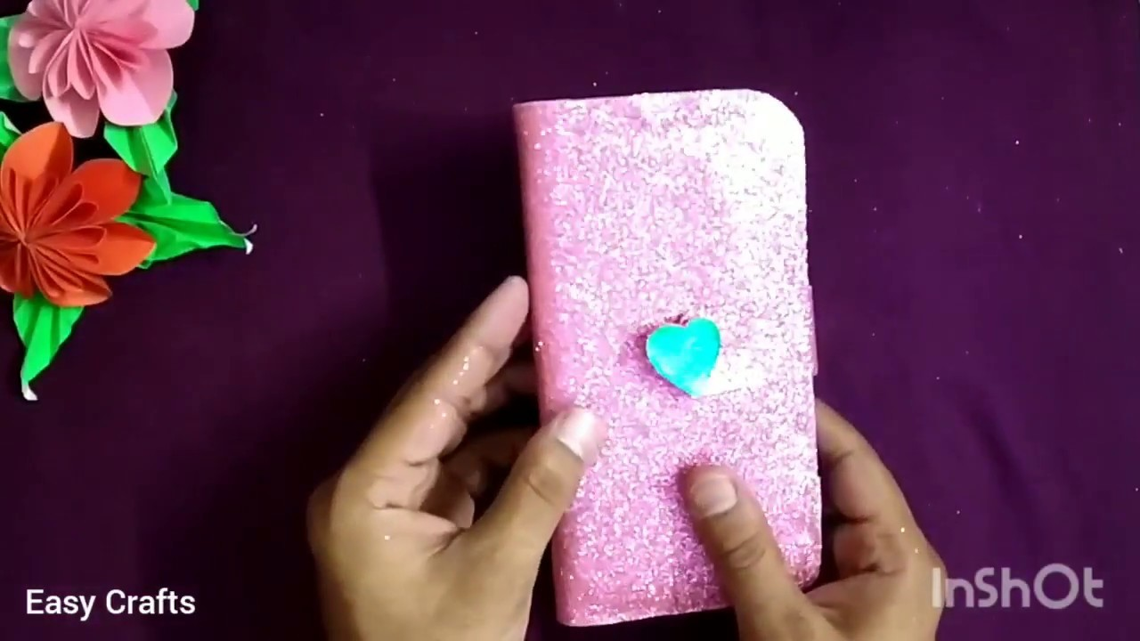 DIY How to make Mobile Phone Flip cover at home with old cover | JAAS Easy Crafts