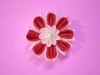 DIY Kanzashi Flower, Kanzashi Flower Tutorial