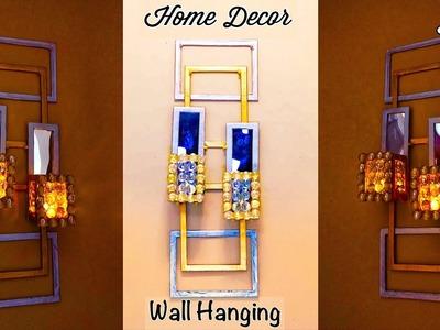 DIY Unique Wall Hanging | Wall hanging craft ideas simple | diy wall decor | gadac diy