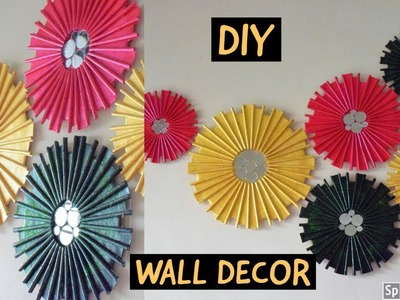 DIY | WALL DECOR |paper craft| home decor ideas