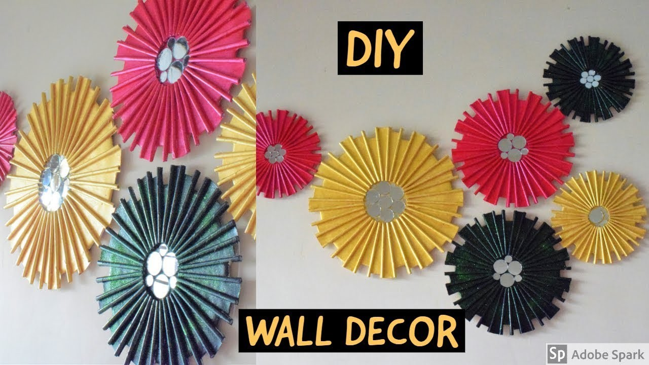 DIY, WALL DECOR  paper craft  home decor ideas