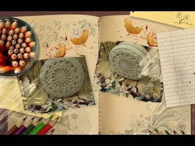 How to crochet a vintage circular handbags part 2.3 - Hướng dẫn móc túi tròn phần 2.3