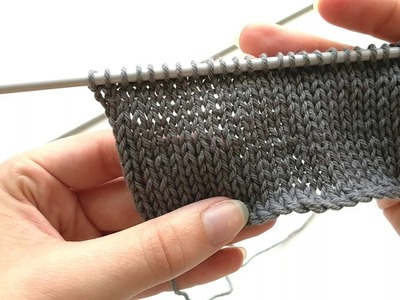 HOW TO DO STOCKING STITCH OR STOCKINETTE | A KNITTING TUTORIAL FROM KNITS PLEASE
