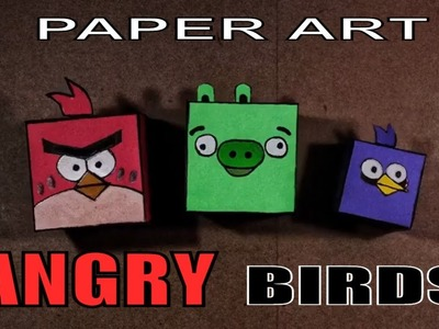 How to make Angry Bird craft - EASY Tutorial