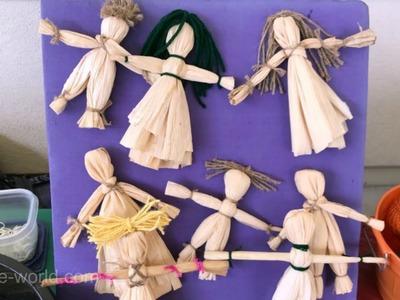 How to Make Corn Husk Dolls | Sophie's World