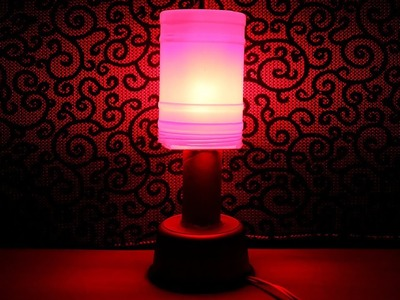 How To Make Electric Table Lamp at Home - DIY Electric Table Lamp