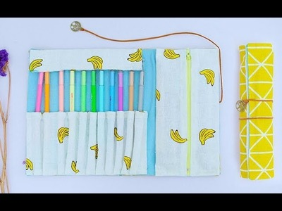 How To Make Pencil Bag || DIY Pencil Case || Back To School