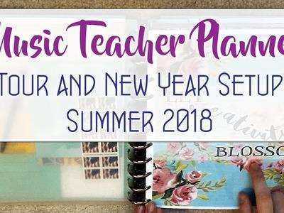 Music Teacher Planner Tour and New School Year Setup 2018