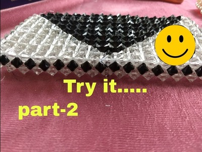 Part-2. How to make easy and simple way beads bag making made by Arpita Creation ????????????????????????????