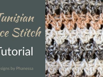 Tunisian Lace Stitch #1 - Tutorial