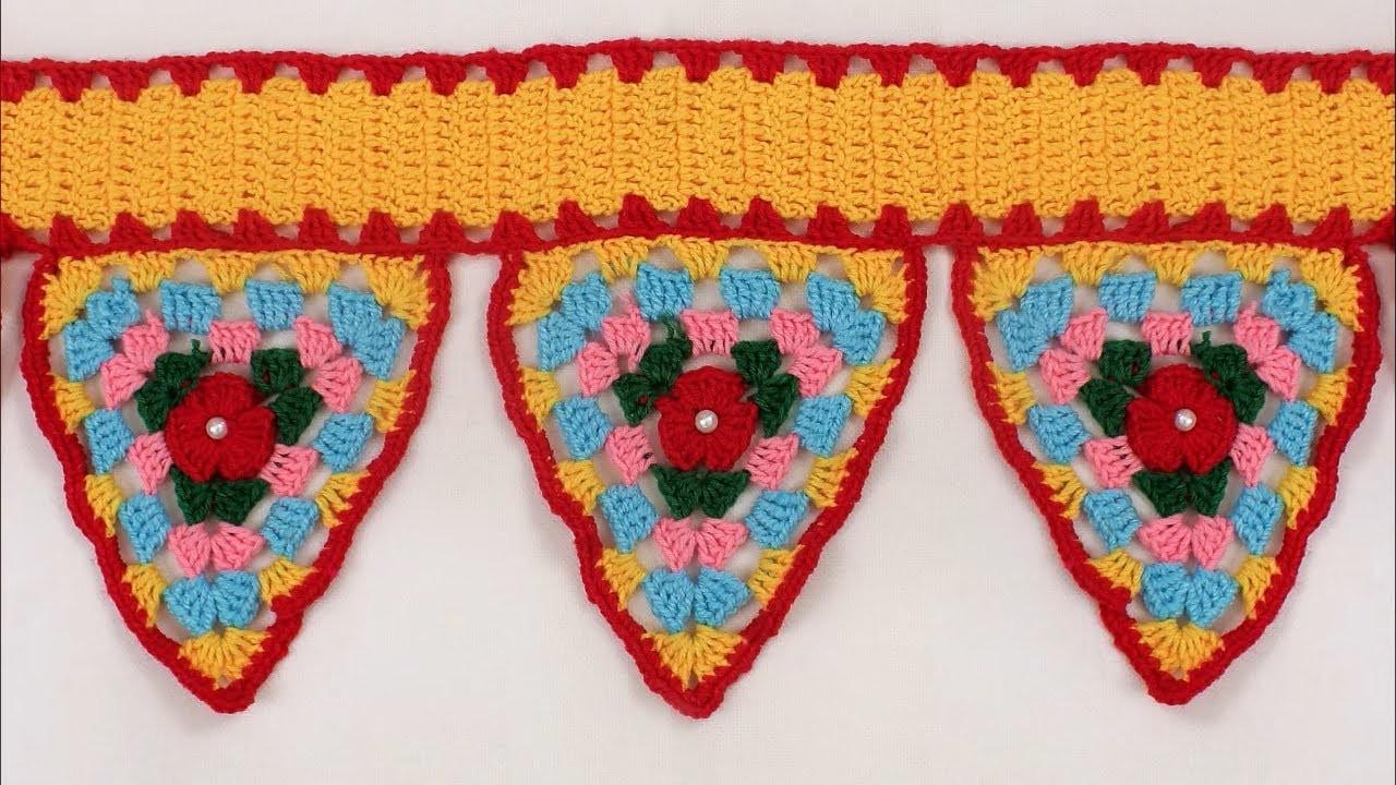 WOW !!! DIY | How to make Door Hanging Toran from Woolen | Handmade Toran | DIY Door Hanging Toran
