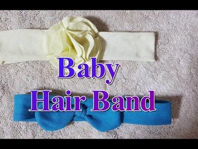 DIY Baby Hair Bands using old T-shirt (Malayalam)