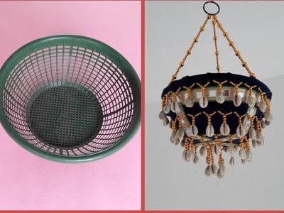 DIY Best out of Waste Idea 2018 || Best Reuse of Waste Basket Craft Idea || DIY Wall Hanging Home at