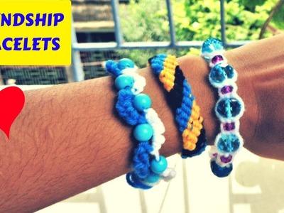 DIY Bracelets   3 Easy Bracelet ideas at home