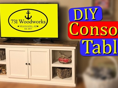DIY Console Table - How To Build Guide