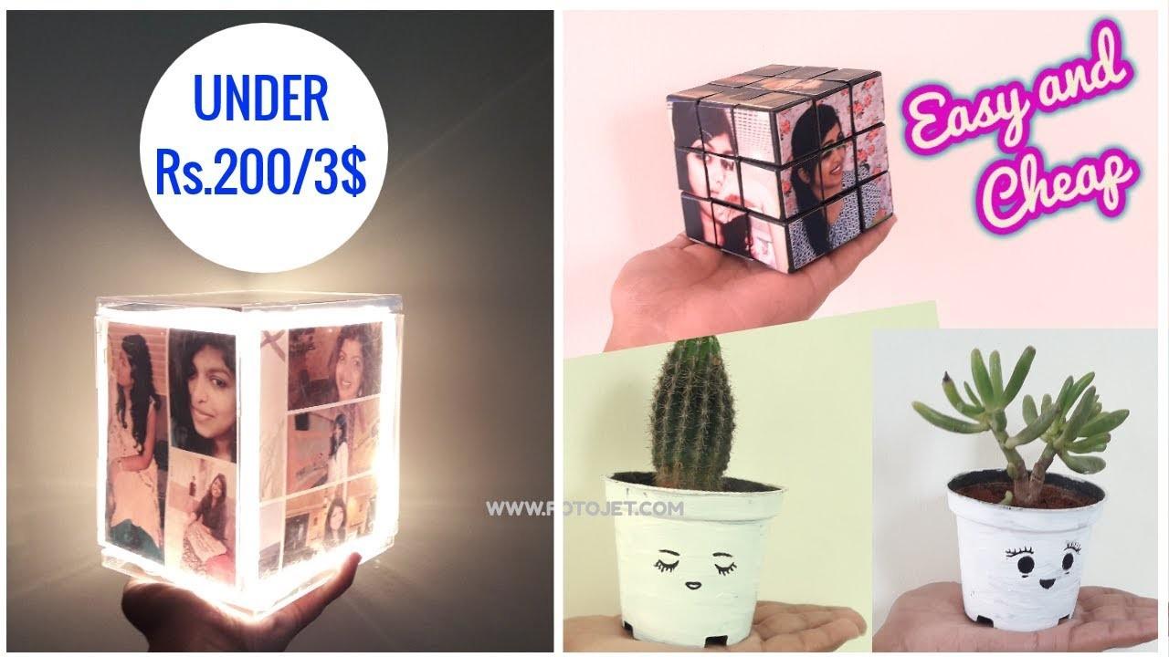 DIY EASY CHEAP GIFT IDEAS UNDER 200 FOR BIRTHDAYANNIVERSARY
