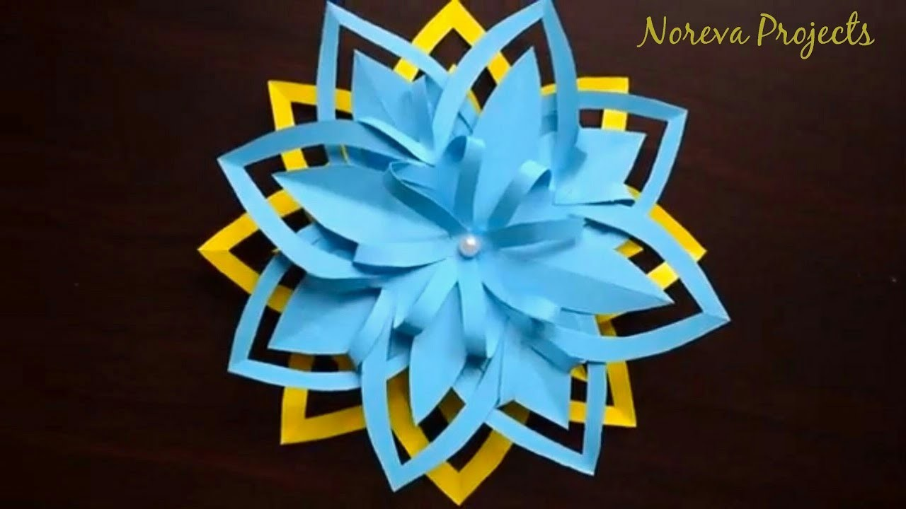 Diy layered paper flower cutting preschool crafts paper flowers diy layered paper flower cutting preschool crafts paper flowers paper craft ideas for kids mightylinksfo