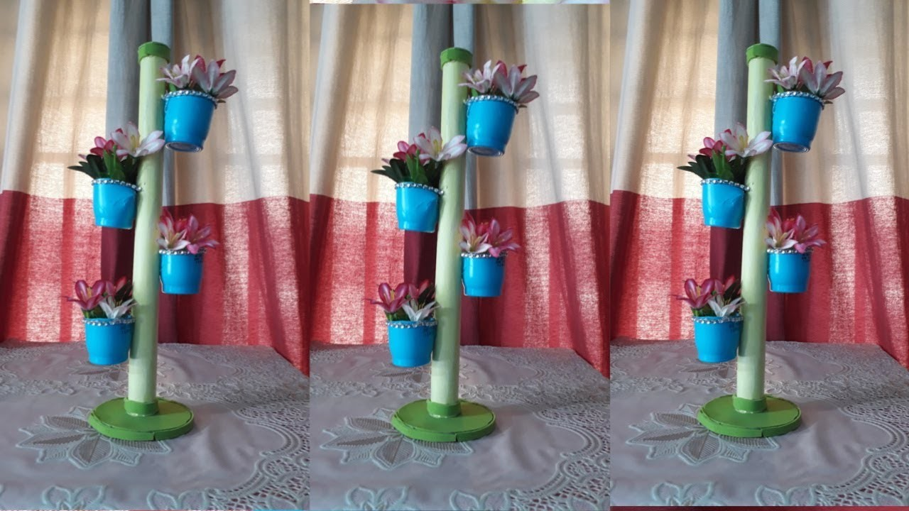 Diy Showpiece Making From Waste Material At Home Recycling Crafts