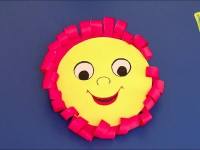 DIY Video I How to make a Sun in Hindi I सूरज बनाना सीखें I Paper ka Sooraj I