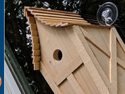 DIY Wood Birdhouse with a Window | 2018 Summers Woodworking Challenge